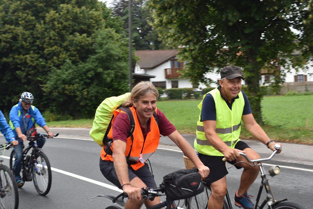 Unterwegs  Bürgerforum Inntal Fahrraddemo 2018, Brennernordzulauf
