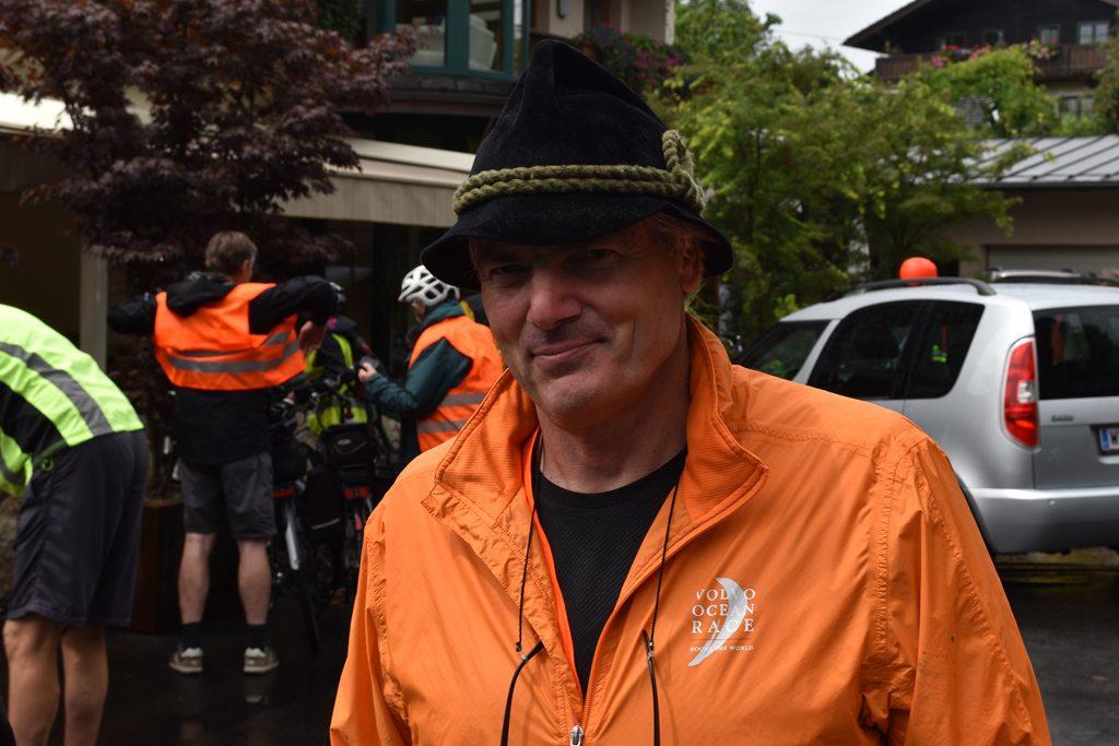 Martin Schmid Erl  Bürgerforum Inntal Fahrraddemo 2018, Brennernordzulauf