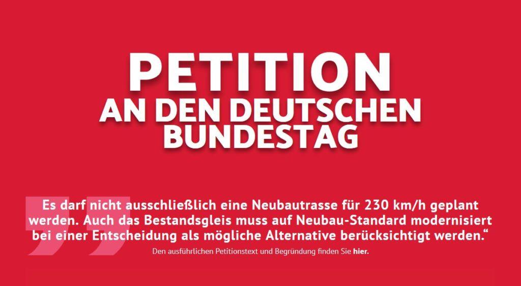 Petition läuft noch weiter.