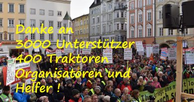 Demonstration 2020 Februar