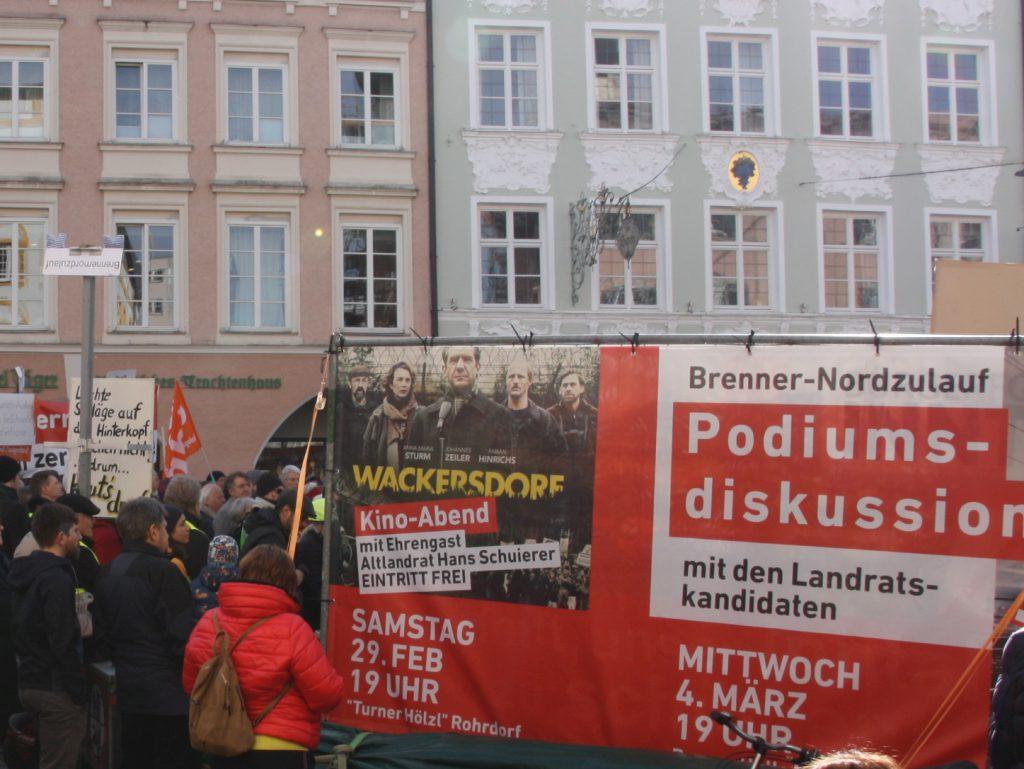 Als weitere Aktionen vor der Kommunalwahl stehen am 29.2. der Kinoabend Wackersdorf und am 4.3. eine