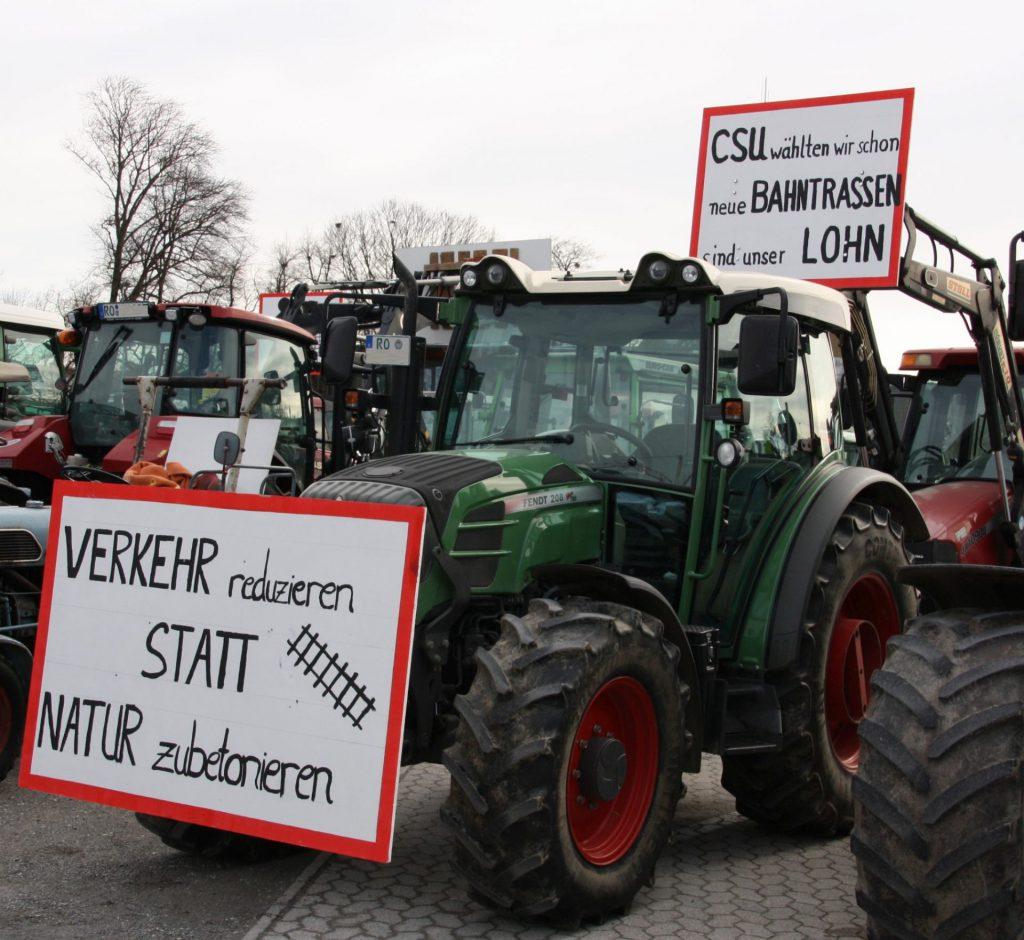 Dass sich viele Landwirte durch die Arbeit der letzten drei CSU-Verkehrsminister verraten fühlen, ve