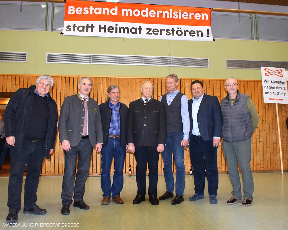 Martin Schmid, Sepp Hofer, Sepp Reisinger,Hans Schuirer,Rainer Auer, Thomas Riedrich, Ben Warkentin.