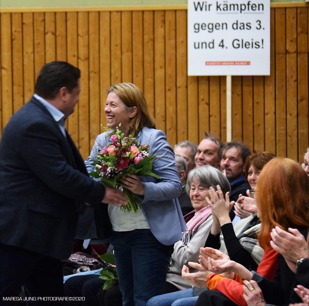 Thomas Riedrich und Erika Riedrich  Brennerdialog Rohrdorf 29.2.20.