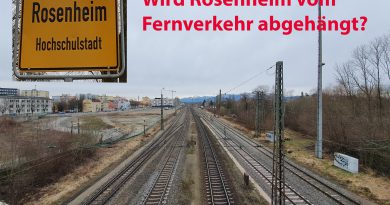 Wird Rosenheim vom  Fernverkehr abgehängt?