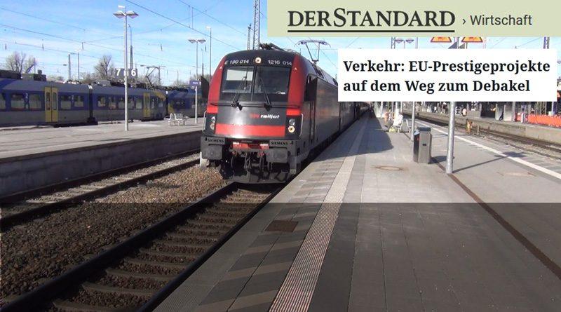 Verkehr: EU-Prestigeprojekte auf dem Weg zum Debakel