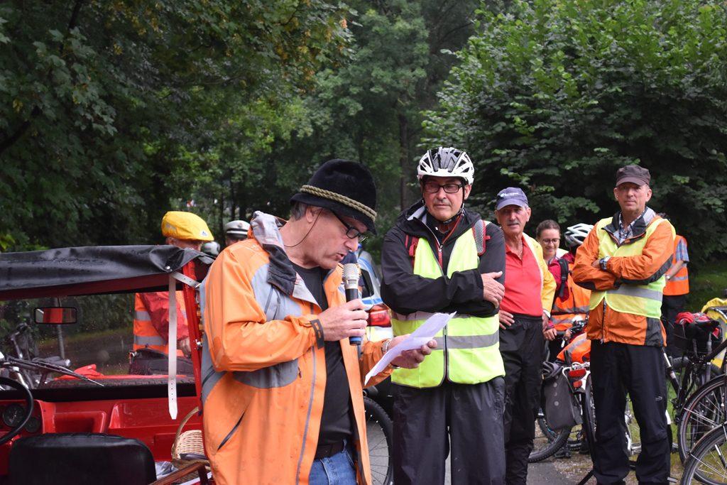 Neubeuern Abfahrt am Beurer See  Bürgerforum Inntal Fahrraddemo 2018, Brennernordzulauf