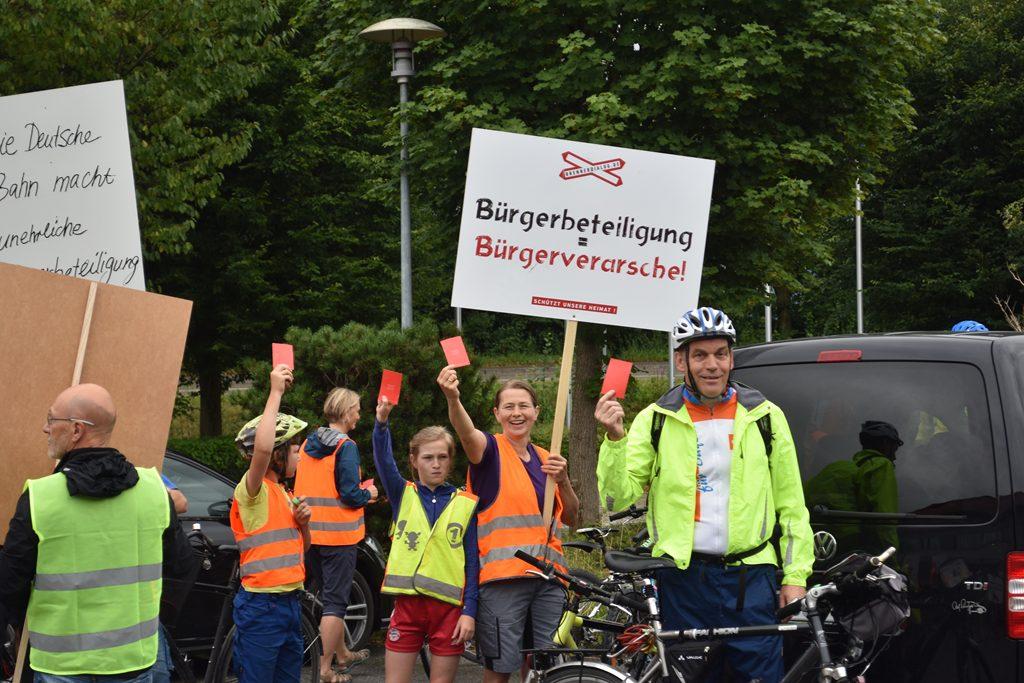 Iko Kirchdorf  Bürgerforum Inntal Fahrraddemo 2018, Brennernordzulauf