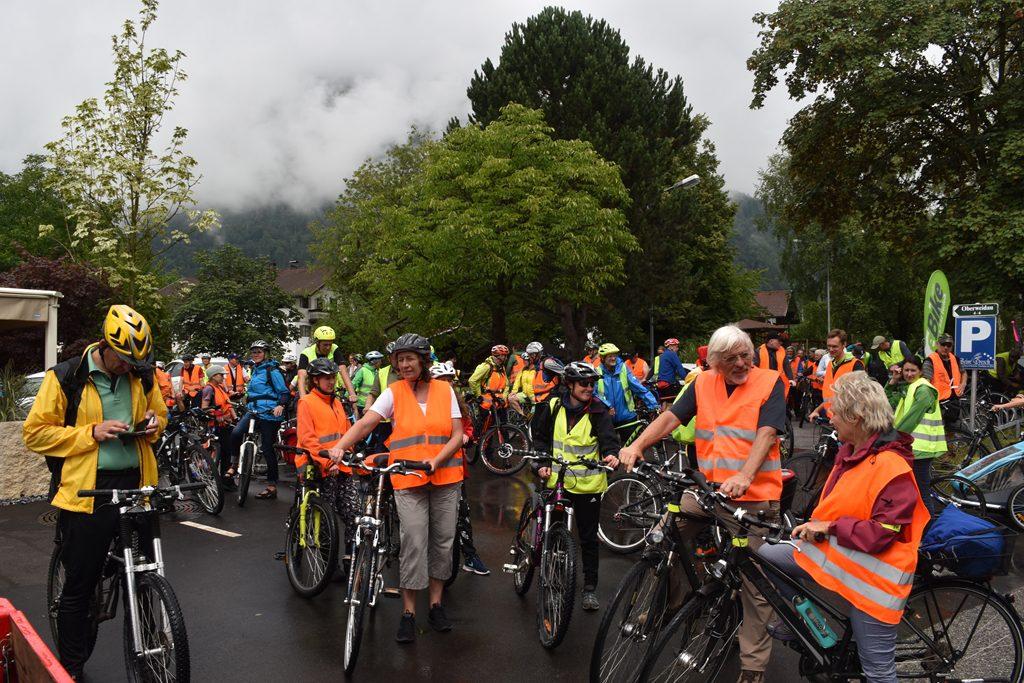 Erl  Bürgerforum Inntal Fahrraddemo 2018, Brennernordzulauf