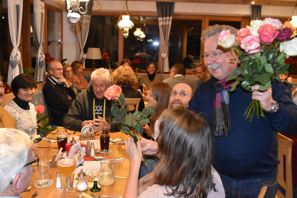 BFI Jahresabschluss 2019 Rosenkavalier Peter Margraf im Einsatz.