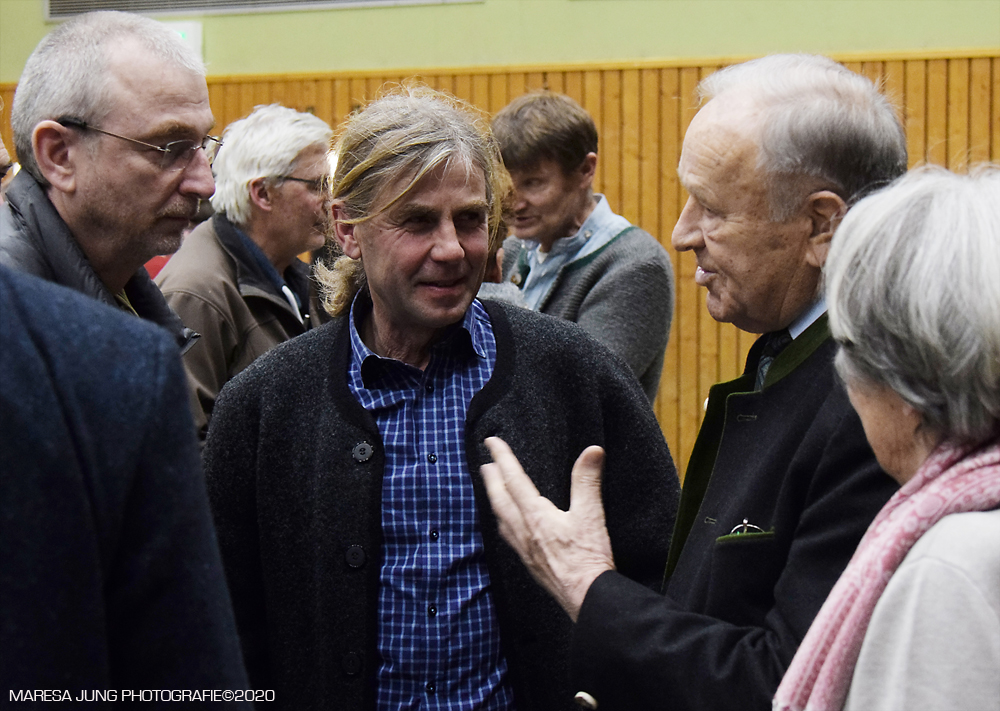Hans Schuirer ehemaliger Landrat von Wackersdorf hat viel erlebt.