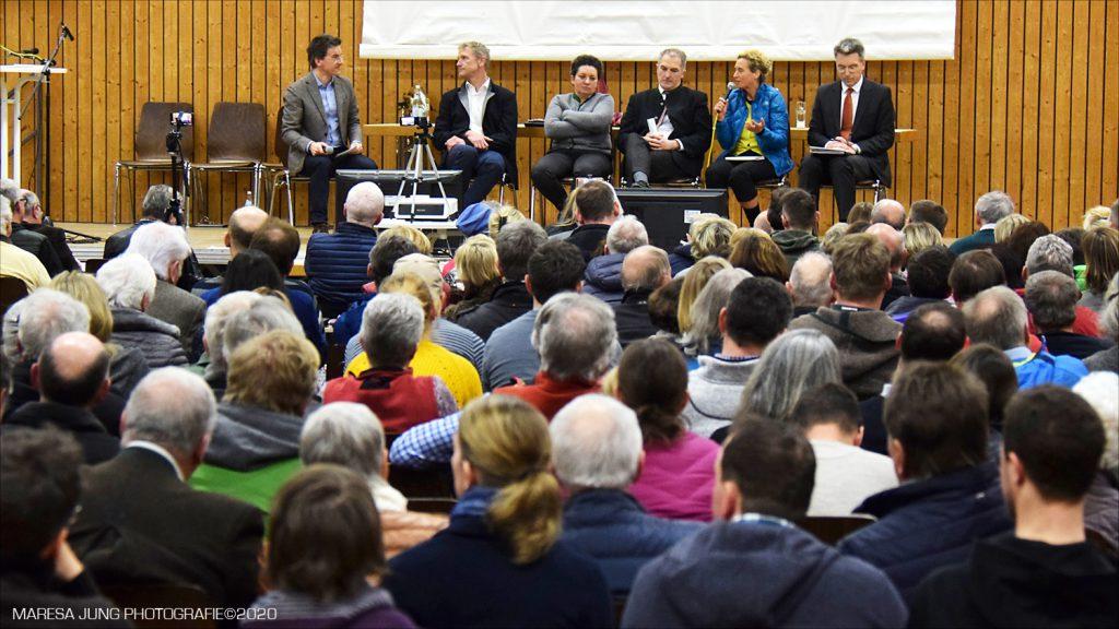 Podiumsdiskussion mit den Landratskandidaten 2020 Neubeuern Bürgerforum Inntal